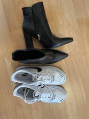 getragene duftende Schuhe