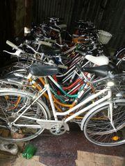 Fahrräder verschiedene Marken