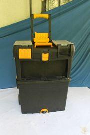 Rollwagen Angler Trolley Koffer Boxen