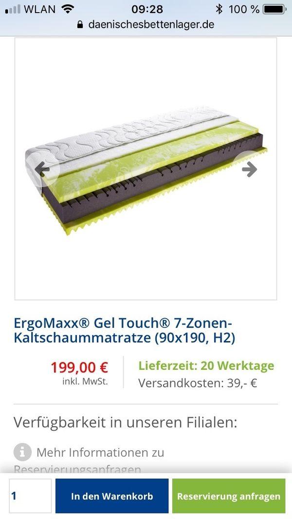 2Stuck Ergo Maxx Geltouch Matratzen