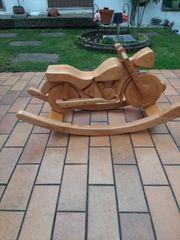 Schaukel Motorrad massiv