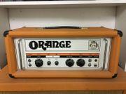 Orange Röhrenverstärker Vintage aus den