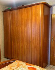 Schlafzimmerschrank Kleiderschrank Kirschbaum massiv