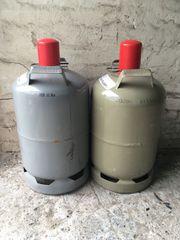 2 Gasflaschen Leer Pfand 11