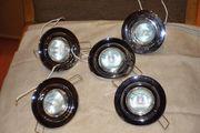 Einbauleuchten Einbaulampen Halogen 5-er Set