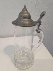 Bierkrug Glaskrug Sammlerobjekt der Bierbrauerei