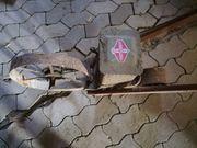 alte Dippelmaschine Sämaschine Fortschritt mechanisch
