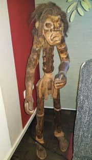 Afrikanischer Schutzgeist Skulptur Afrika Kunst