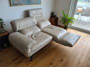 Rolf Benz Couch Plura Beige