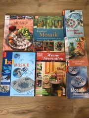 Mosaik Hobby verschiedene Bücher Anleitungen