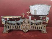 alte antike Jugendstil - Waage Küchenwaage