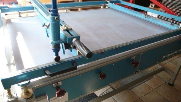 Siebdrucktisch Handautomat SIRI Drucktisch 5000