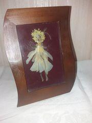 Bild Mädchen Engel aus Blumen