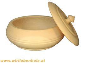 Dekoartikel - Zirbenholzdose 20 cm Durchmesser