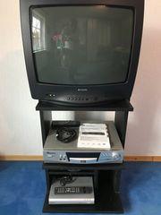 Fernseher Samsung DVD Recorder Sat-Reciever