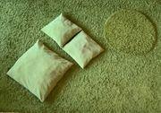 Teppiche und Kissen