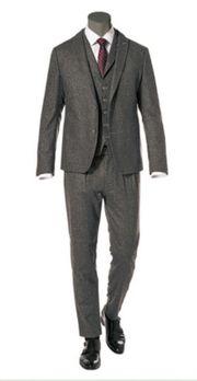 Cinque Anzug Slim Fit Wolle