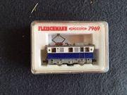 verkaufe Fleischmann Piccolo 7969 Schienenreinigungslok