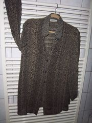 Bluse Leoparden Muster