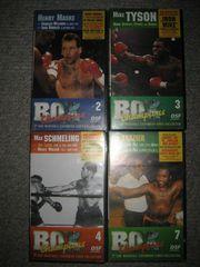 4 VHS Kassetten Cassetten Original-Filme