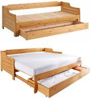 NEU Tagesbett ausziehbar 90-180x200 Gäste-Bett