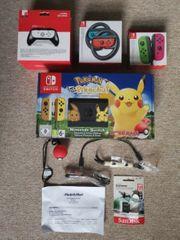 Switch pokemon Edition mit Extras