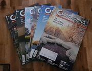 Geocaching Magazin 12 Ausgaben Jahrgänge