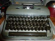 Schreibmaschine OLYMPIA Sammlerstück mit Koffer