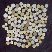 Alte Münzen verschiedene Länder Österreich