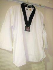 Kwon Taekwondoanzug mit schwarzem Kragen