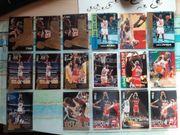 17 verschiedene Michael Jordan Sammelkarten