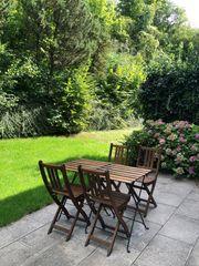 Gartenmöbel Set 4 Stühle 2