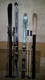 Ski-Ausrüstung-2 Paare