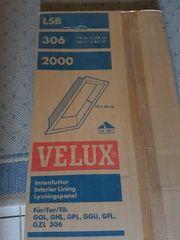 unverbautes VELUX Innenfutter LSB 306