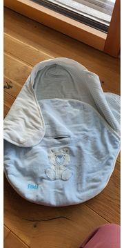 Einschlagdecke für Babyschale Fillikid