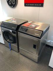 Speed Queen Edelstahl Frontlader Waschmaschine