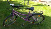 Damen Fahrrad 26 Zoll pink