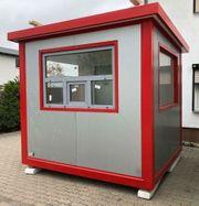 Bürocontainer Wohncontainer Gartenhaus Kassenhaus Pförtnerhaus