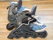 Mitwachsende Rollerblades Stuf mit Schutz-Set