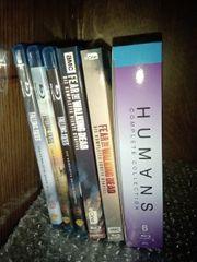 verkaufe Blu-ray und DVD Serien
