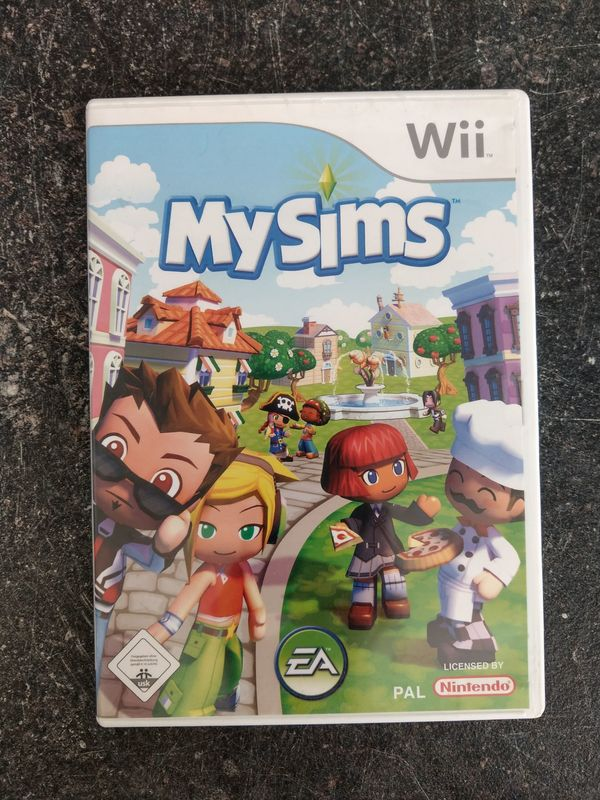 Wii - My Sims - Ohne Anleitung