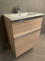 Badmöbel-Set 60 cm Waschtisch Unterschrank