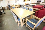 Tischgruppe m 10Stühlen Pinie massiv -