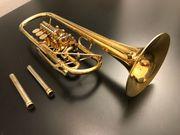 Josef Monke C Konzerttrompete vergoldet