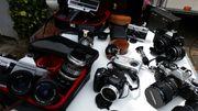 Alte Kameras u Zubehör