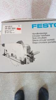 Festo Handkreissäge mit Schiene und
