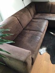 Couch ausziehbar Longchair