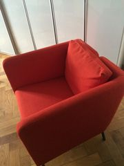schöner neuer IKEA SESSEL rot