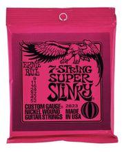 3x Ernie Ball Super Slinky-Gitarrensaiten