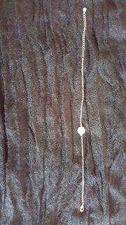 Silber Armband mit Daisy Blume
